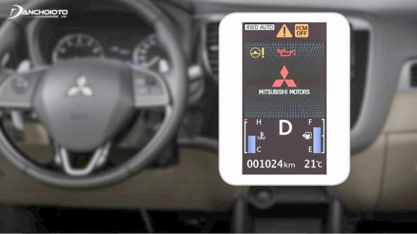 Xe được trang bị màn hình hiển thị đa thông tin