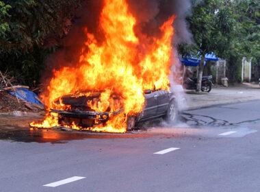 Những nguyên nhân khiến xe ô tô dễ bốc cháy