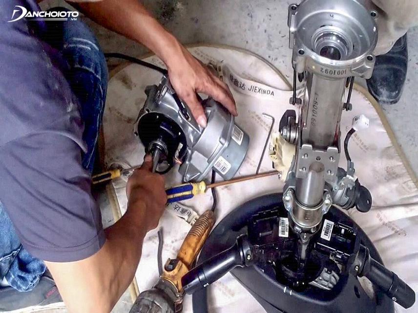 Bảo trì hệ thống trợ lực lái điện