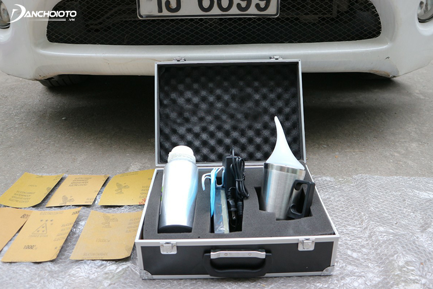 Headlamp recovery kit will help to handle headlights quickly when having problems