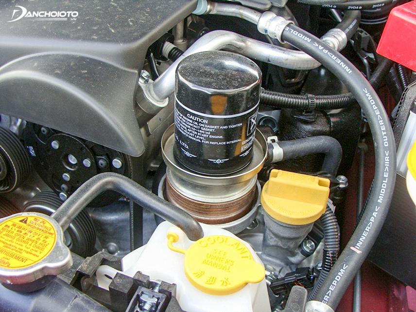 Bộ lọc dầu xe ô tô
