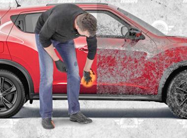 Cách chống gỉ sét sau khi xe ô tô bị dầm mưa