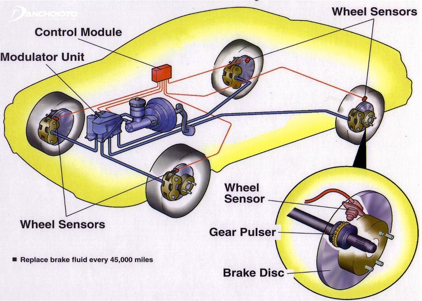 Cấu tạo hệ thống phanh trên xe ô tô