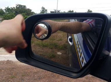chỉnh gương chiếu hậu thế nào cho đúng