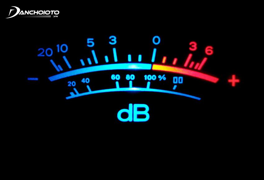 Độ nhạy của loa ô tô cho biết độ lớn của loa