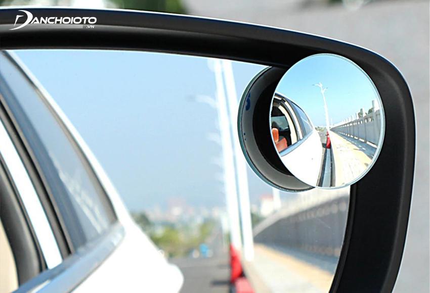 Gương cầu ô tô cao cấp có độ cong chuẩn, cung cấp tầm nhìn rộng