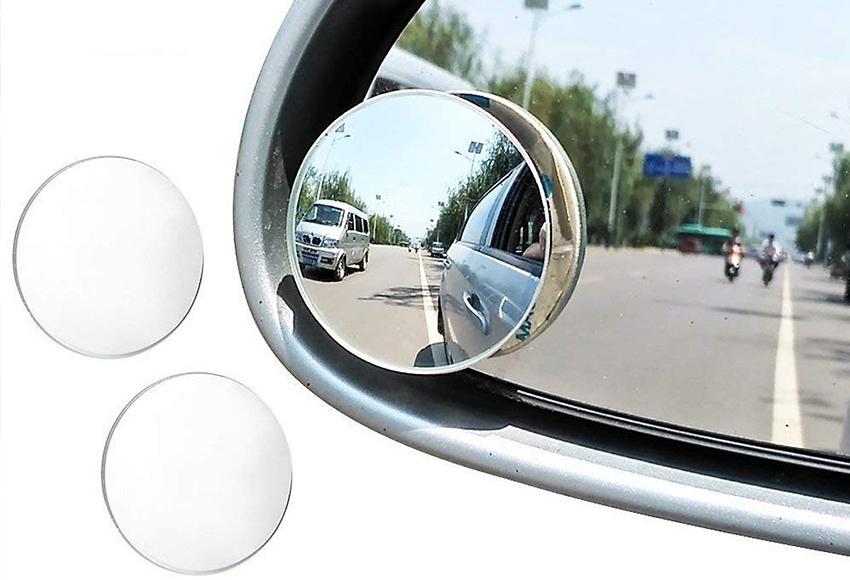 Gương cầu xe ô tô tráng bạc cho hình ảnh rõ nét