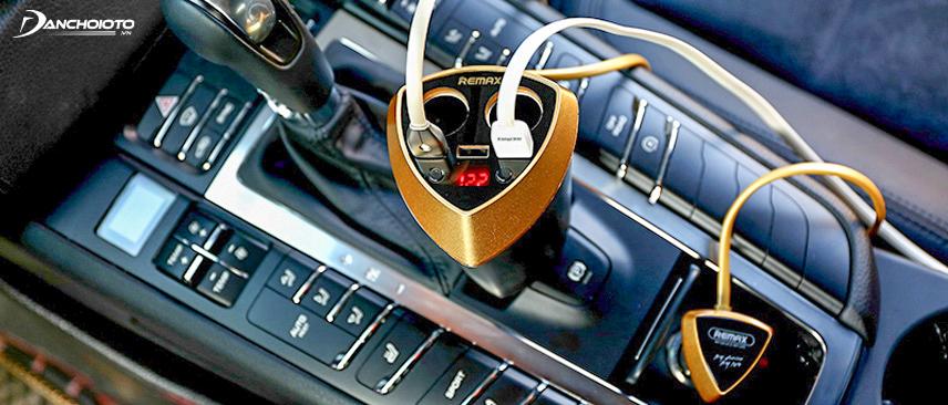 Hạn chế các thiết bị quá tải trong xe