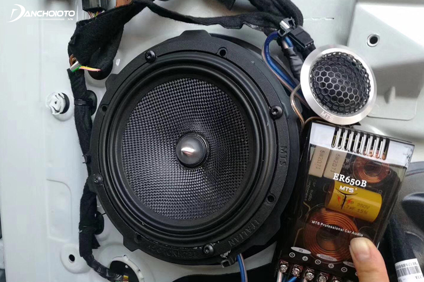 You should pay attention to the maximum capacity when buying car speakers