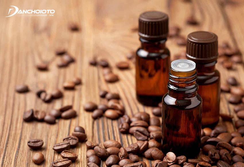 Tinh dầu cà phê tạo thơm, khử mùi xe hiệu quả
