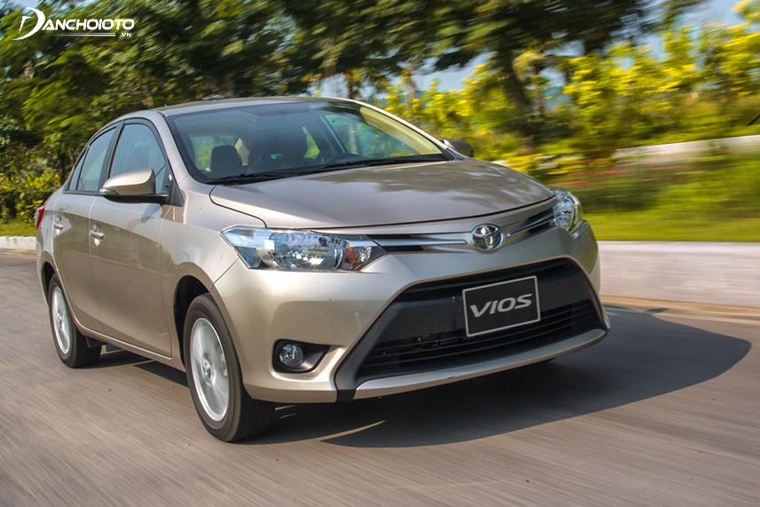 Toyota Vios nổi tiếng với vận hành rất bền bỉ và tiết kiệm nhiên liệu