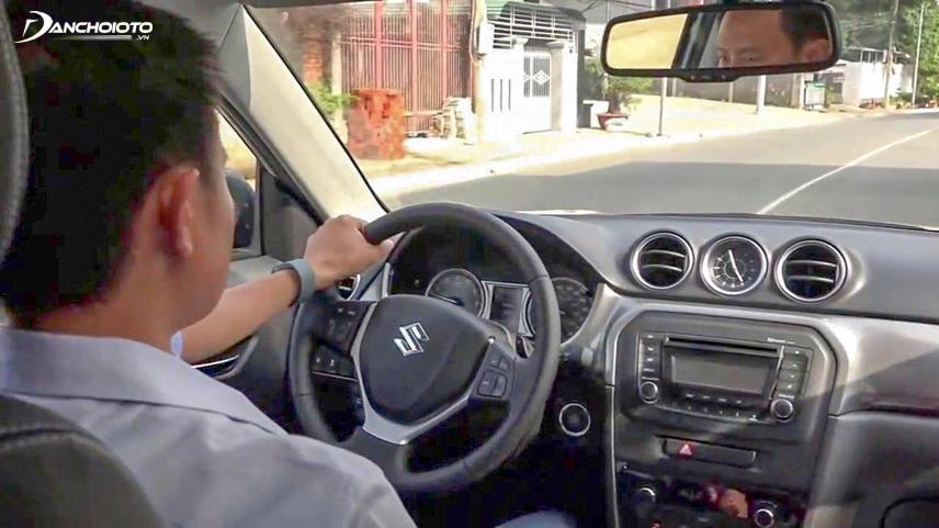 Việc chạy thử xe giúp đánh giá tình trạng của xe chính xác nhất