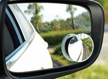 Gương cầu xoá điểm mù ô tô - Trang bị nhỏ, an toàn lớn