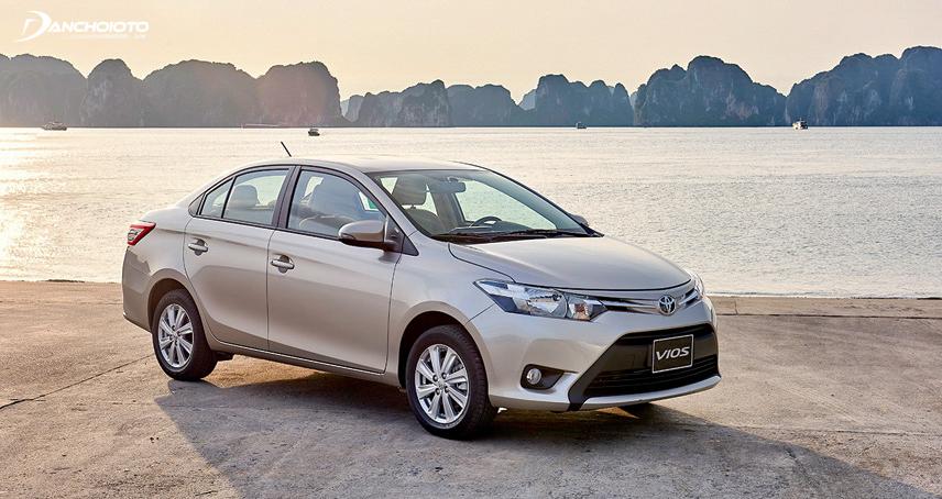 Toyota Vios luôn là chiếc xe bán chạy hàng đầu trong cùng phân khúc