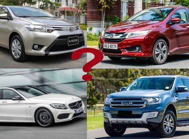 Xe của hãng ô tô nào bền bỉ nhất sau 10 năm sử dụng?