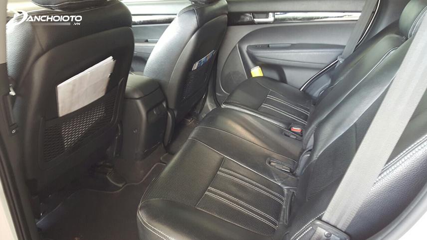 Cabin xe Kia New Sorento 2016 cực kỳ rộng rãi và thoáng mát