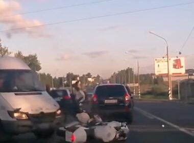Đừng bao giờ chủ quan khi tham gia giao thông!