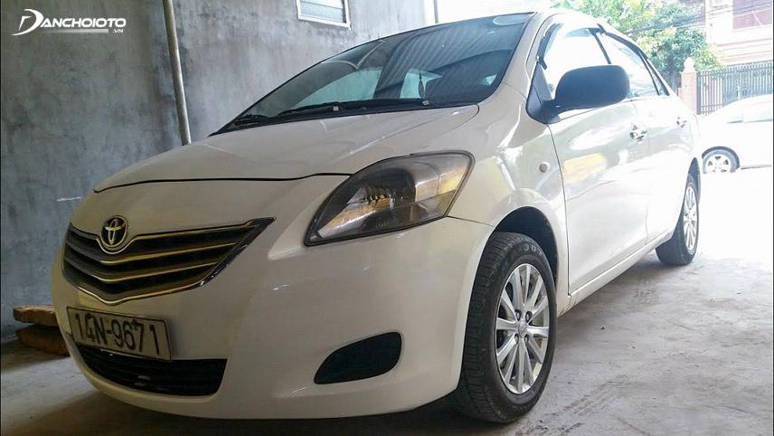 Vios Limo là bản xe ít tùy chọn và thường được sử dụng để chạy taxi