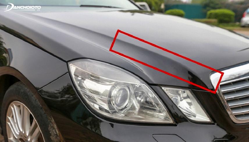 Các đường dập nổi trên xe sẽ không thể gò hàn được như mới nếu chẳng may xảy ra va chạm