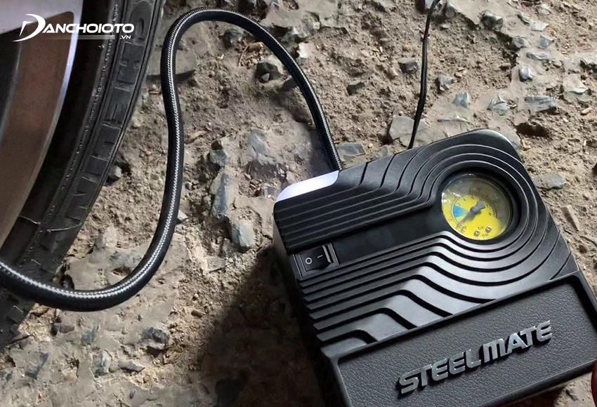 Máy bơm lốp ô tô Steelmate P03 12V
