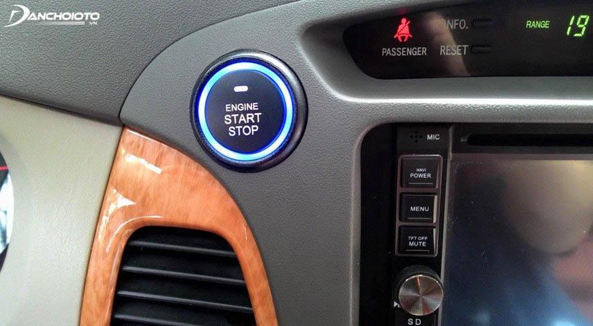 Chìa khóa thông minh Start/Stop Engine có thẩm mỹ cao