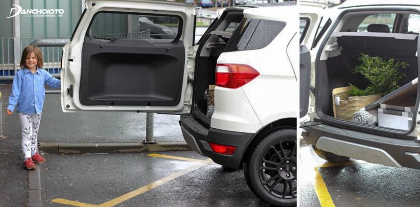 Ford EcoSport là chiếc SUV cỡ nhỏ có giá thành rẻ nhất
