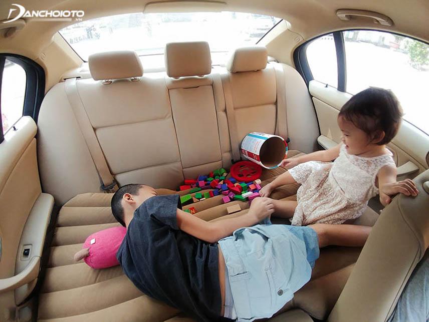 Mang đến không gian vui chơi thoải mái cho trẻ