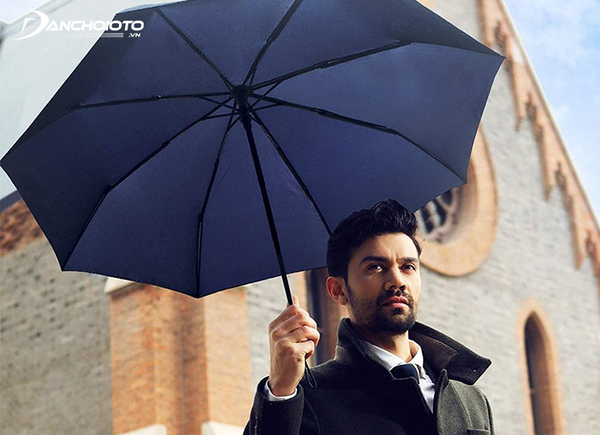 An umbrella will help in many cases of rain and sun