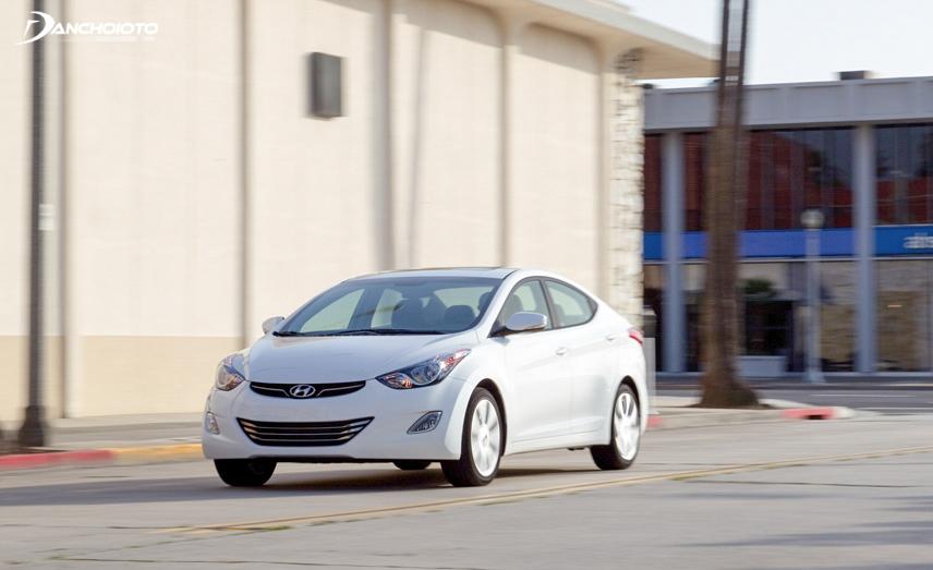 Tính năng an toàn của Hyundai Elantra 2011 cũ đã được khẳng định