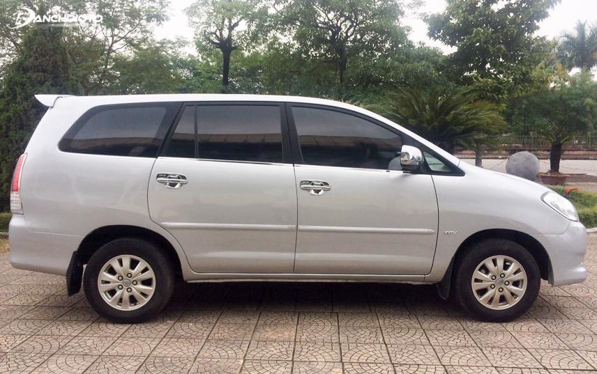 Toyota Innova sau 8 năm sử dụng vẫn như mới