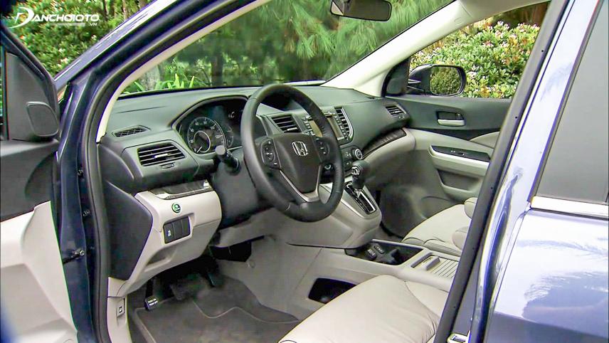 Bảng điều khiển xe CR-V 2012
