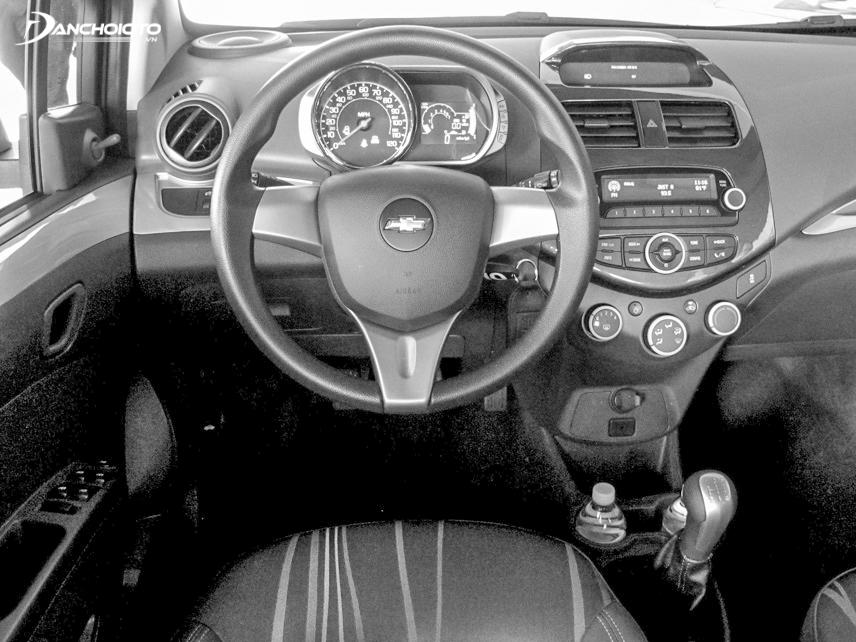 Bảng đồng hồ xe Spark 2013