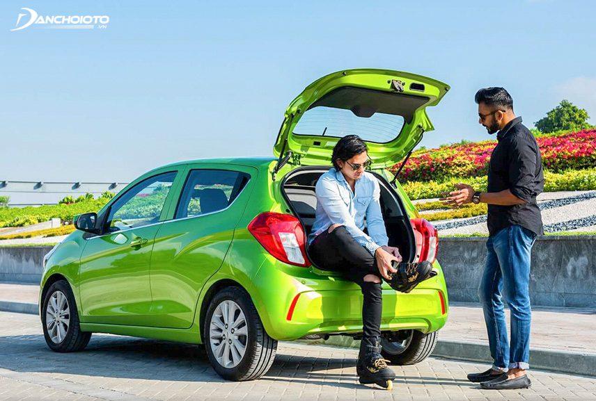 Chevrolet Spark có khả năng di chuyển linh hoạt trong đô thị
