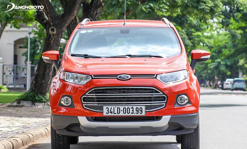 Ford EcoSport 2017 có khả năng vận hành mạnh mẽ, bền bỉ