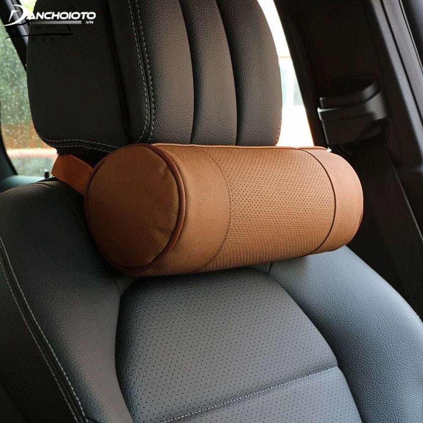 Leather pillow top