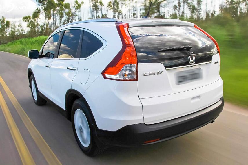Honda CR-V 2012 có chế độ lái ECON Coatching giúp xe tiết kiệm nhiên liệu