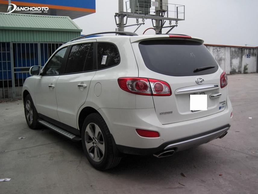 Mẫu xe SantaFe 2012