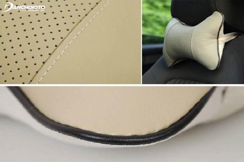 Choose headrest pillows made from friendly materials