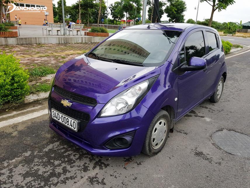 Ngoại thất xe Spark 2012 vẫn gây khá nhiều tranh cãi về phong cách thiết kế