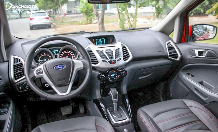 Nội thất Ford EcoSport 2017 sang trọng, đầy đủ tiện nghi