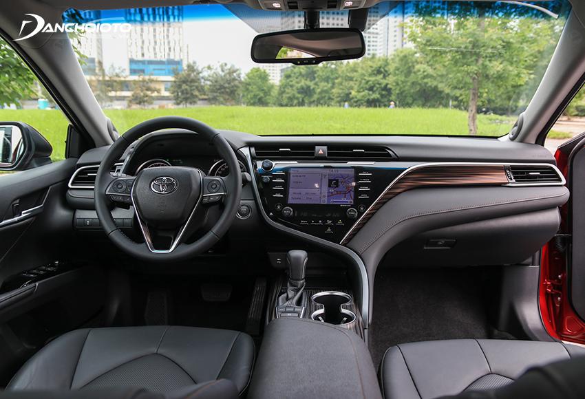 Nội thất Toyota Camry 2019