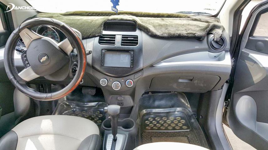 Nội thất xe Chevrolet park