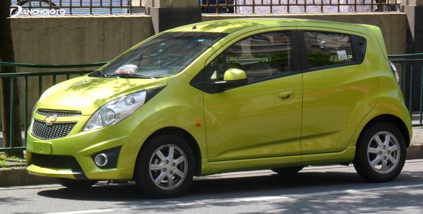 Chevrolet Spark 2012 sử dụng động cơ dung tích 1.2L