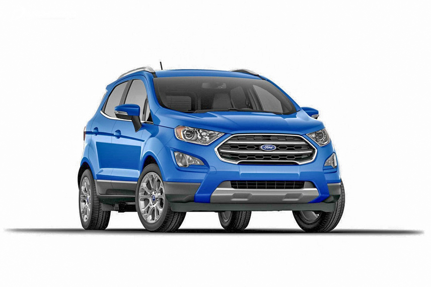 Đầu xe được trang bị lưới tản nhiệt có logo Ford đặt ở vị trí trung tâm