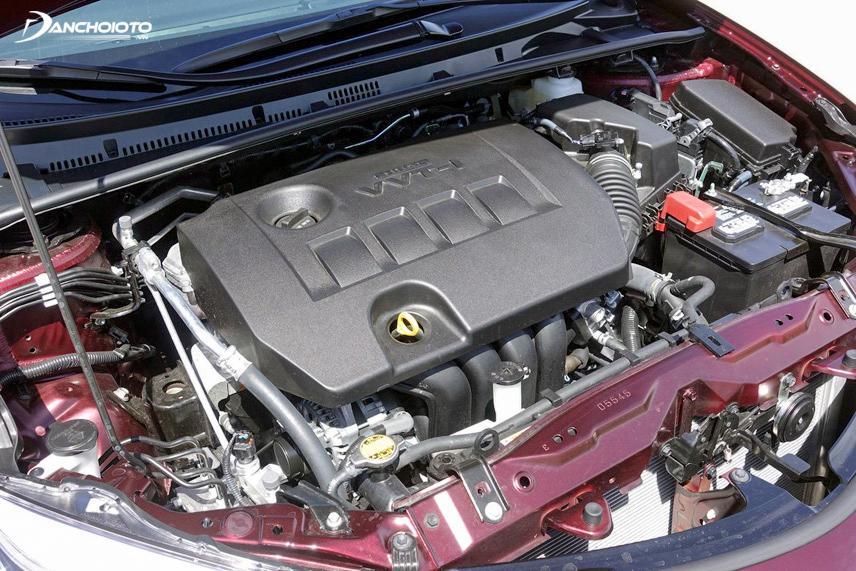 Động cơ của Toyota Altis 2018 không có nhiều sự thay đổi so với các phiên bản cũ