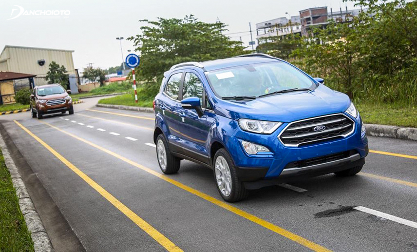 Ecosport Titanium 2018 với nhiều mặt nâng cấp sẽ là niềm hy vọng mới của Ford