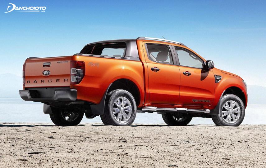 Ford Ranger Wildtrak 2017 có kiểu dáng mạnh mẽ