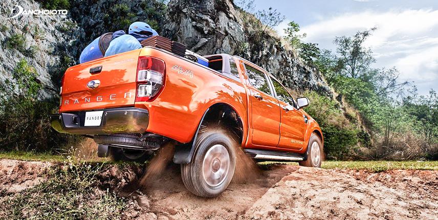 Ford Ranger Wildtrak 2017 có thể vượt qua những đoạn ngập đến gần 1m