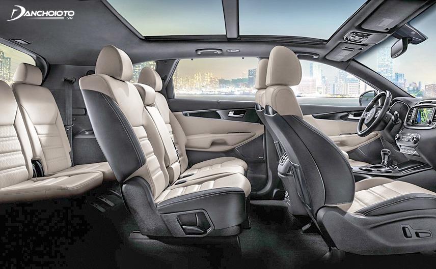 Ghế của Kia Sorento 2018 phù hợp với hầu hết mọi người