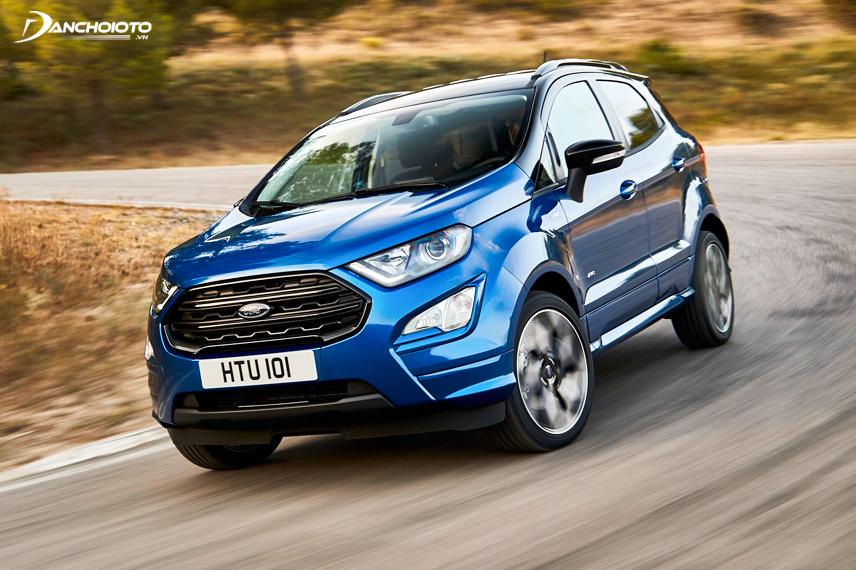 Hai loại động cơ được Ford tích hợp trên năm phiên bản EcoSport 2018